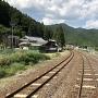 居館跡とJR加太駅