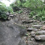 旧道の石段