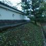 本丸土塀(復元)※狭間の内外逆