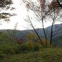 本丸跡から妙高の山々を見る