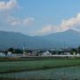磐梯山(高瀬の大木側から)