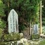 尼子勝久と山中鹿之助の慰霊碑