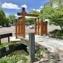 模擬門と石橋