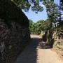 本丸東側の通路