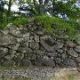 亀ケ城 石垣 門跡