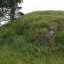 本丸上段南西隅の石垣