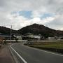 吉田郡山城遠景