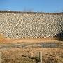 本丸南側の高石垣