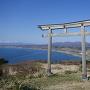 夷王山神社の鳥居付近から