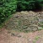 黒崎城 二の丸北側石垣①