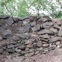 黒崎城 二の丸北側石垣②