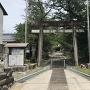 本丸北側の多賀神社
