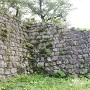 本丸の石垣 隅櫓があった