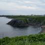 東側の岬からチャシ方向