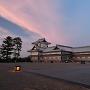 菱櫓(夕景)