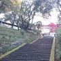 天守への大階段!?