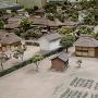 城下の町並み(黎明館内模型)