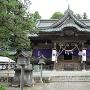 小高神社の拝殿付近から