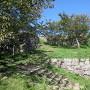 鉄門跡の石垣[提供:米子市教育委員会]