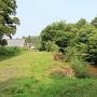 堀跡(南側から)