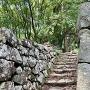 石垣の階段 @本丸