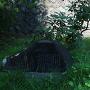 愛姫誕生の地石碑