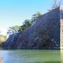 水面からの高石垣2