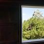 西南隅櫓三階から天守閣を望む