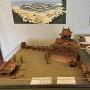 大津城天守復元模型