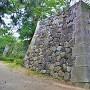 敵見櫓跡石垣(北側)