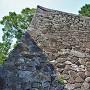 隠居丸南西側石垣(南側)