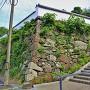 家老屋敷跡石垣(南東側)