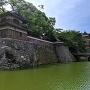 水堀と冠木橋