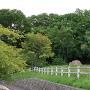 桜チャシ城址風景