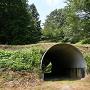 土橋のトンネル