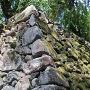 本丸虎口の石垣