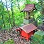大山祇神社と書かれている祠