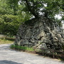 鉄御門跡の石垣