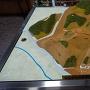河後森城跡の模型