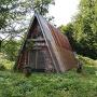 中間くらいにある作業小屋