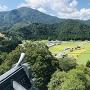 天守からの眺望(戌山城)