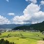 勝山城博物館からの眺望(北側)