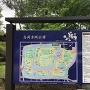 高岡古城公園 案内板(現在地は大手口)