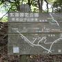 高祖山登山道案内板