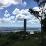 石碑と絶景