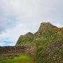 城址北側の城壁