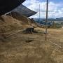 西の郭の掘立小屋跡