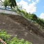 本丸の断崖