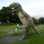 恐竜に占拠された城址