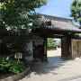大念佛寺に移築された陣屋門